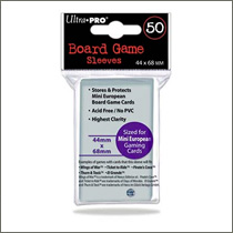 Ultra Pro - Board Game Sleeves Mini European - 44x68mm