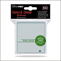 Ultra Pro - Board Game Sleeves Special Size - 69x69mm