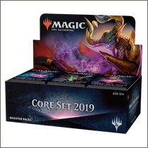 Core Set 2019 Booster Display