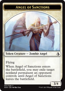 Angel of Sanctions Token (3/4)