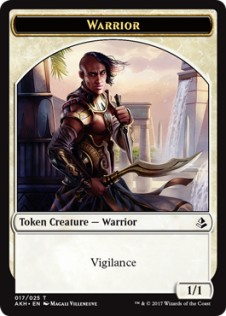 Warrior Token (1/1)