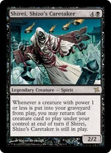 Shirei, Shizo\'s Caretaker