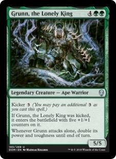 Grunn, the Lonely King