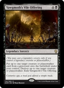Yawgmoth\'s Vile Offering