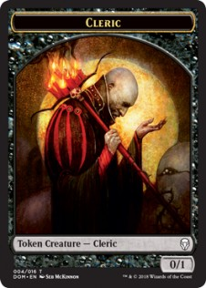 Cleric Token (0/1)