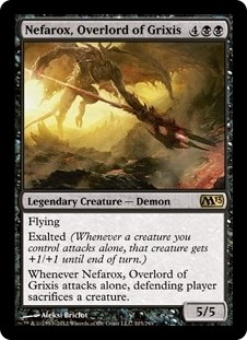 Nefarox, Overlord of Grixis