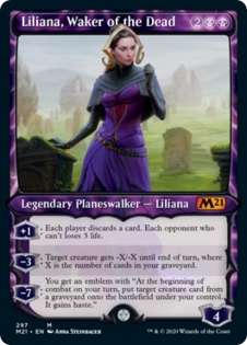 Liliana, Waker of the Dead (Showcase)