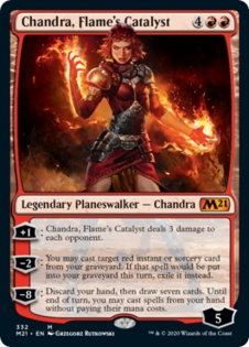 Chandra, Flame's Catalyst (Planeswalker Deck)