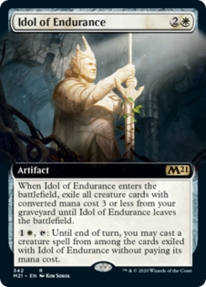 Idol of Endurance (Extended Art)