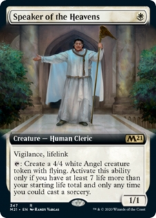 Speaker of the Heavens (Extended Art)