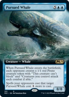 Pursued Whale (Extended Art)