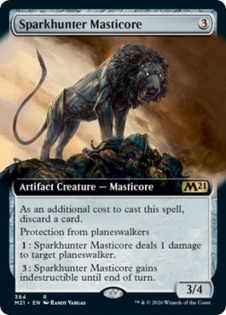 Sparkhunter Masticore (Extended Art)