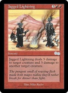 Jagged Lightning