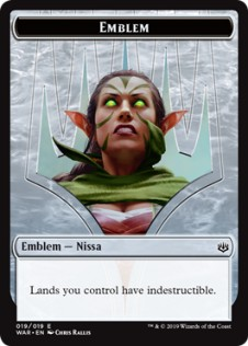 Nissa, Who Shakes the World Emblem