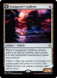 Conqueror\'s Galleon / Conqueror\'s Foothold