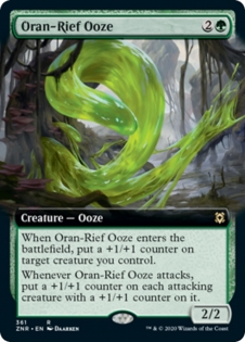 Oran-Rief Ooze (Extended Art)