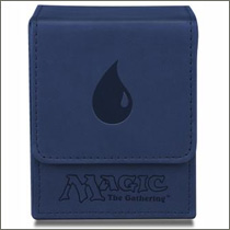 Ultra Pro - Magic - Mana Flip Box - Mat Blue