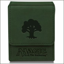 Ultra Pro - Magic - Mana Flip Box - Mat Green