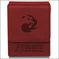 Ultra Pro - Magic - Mana Flip Box - Mat Red