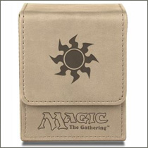 Ultra Pro - Magic - Mana Flip Box - Mat White