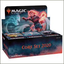 Core Set 2020 Booster Display