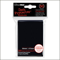 Ultra Pro Sleeves - Black (50st)