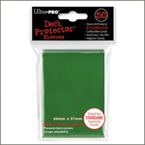 Ultra Pro Sleeves - Green (50st)