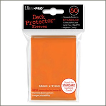 Ultra Pro Sleeves - Orange (50st)