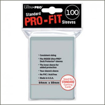 Ultra Pro Sleeves - Pro-Fit (100st)