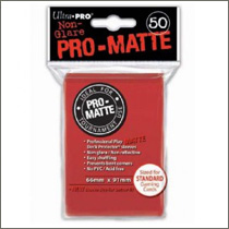 Ultra Pro Sleeves - Pro-Matte Red (50st)