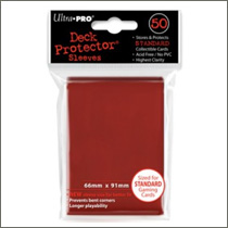 Ultra Pro Sleeves - Red (50st)