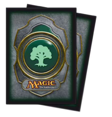 Ultra Pro Gallery Sleeves - Mana Symbol Green
