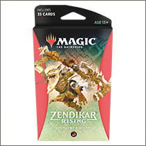 Zendikar Rising Theme Booster: Red